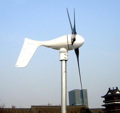 Gowe Grid Tie 550W Windkraftanlage + Grid Tie 500W Inverter