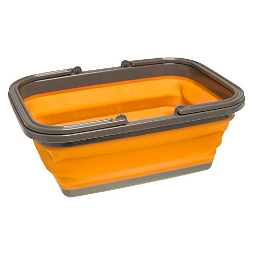 UST FlexWare Collapsible Sink with 2.25 Gal Wash Basin for Washing Dishes and Person During Camping, Hiking and ()