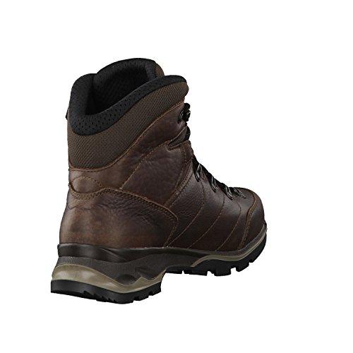 Botas de mujer zapatos de senderismo Hudson GTX Mid 220676 marrón - marrón oscuro