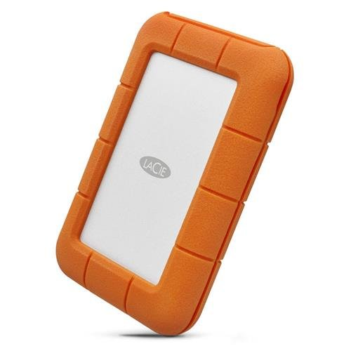 LaCie 4TB Rugged Thunderbolt / USB-C Mobile External Hard Drive, 130MB/s Transfer Rate