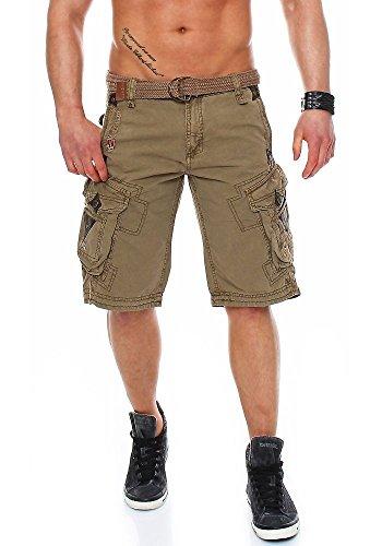 Mastice Perle Geographical Men Norway Bermuda Shorts Sq1XFS