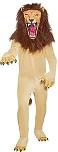 Smiffy's - Disfraz de león de circo para hombre, talla M (34286M)