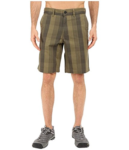 THE NORTH FACE Men's NARROWS PLAID SHORTS (New Taupe Green Plaid) - - Face Male Narrow