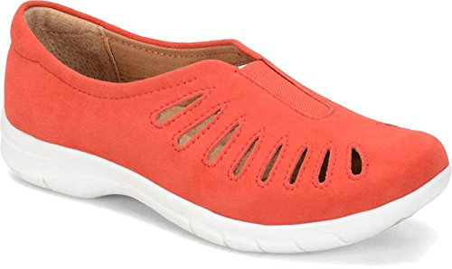 Comfortiva Womens Tinsley Coral King Suede
