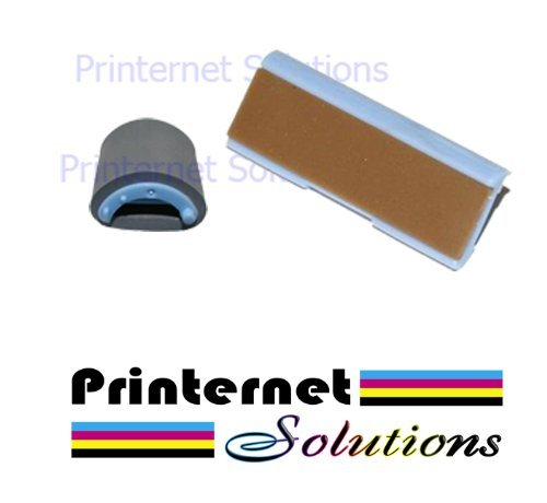 HP LASERJET 1000 1200 1300 PAPER JAM REPAIR KIT ROLLER SEPARATION PAD PREMIUM by Printernet Solutions