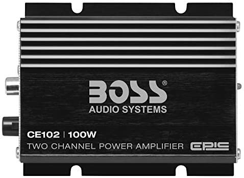 NEW CE102 Boss 100W Two Channel Amplifier