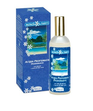 Lot of 4 Wholesale Helan Monoi de Tahiti Paraben Free and Aluminum Free Deodorant Water