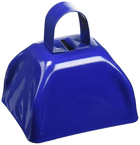 Rhode Island Novelty Blue Metal Cowbell - 12 Pack by Rhode Island Novelty (Image #1)