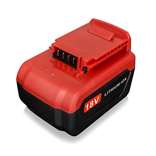 FLAGPOWER PC18B 18V 4.0Ah Lithium Ion Replacement Battery for Porter Cable Cordless Power Tools PC18B PC18BL PC18BLX Battery