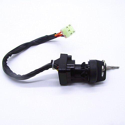 CQYD New Ignition Key Switch for Suzuki LTA400 LTA400F LTA400FC EIGER 400 2WD 4WD 2002-2007