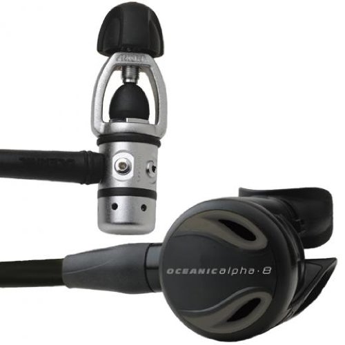 Oceanic Alpha 8 Scuba Regulators - Dive Regulator by Oceanic