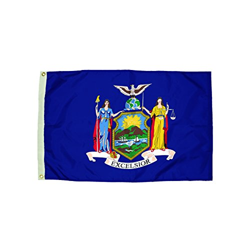 Independence Flag Nylon New York Flag, 3 x - Outlets New State York
