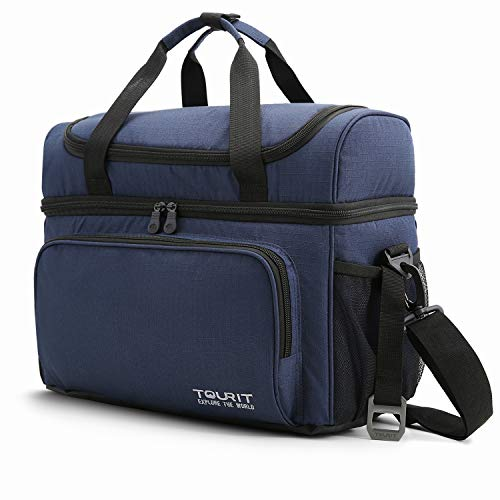 TOURIT Insulated Cooler Bag 15 Cans Large Lunch Bag Travel Cooler Tote 22L Soft Sided Cooler Bag for Men Women to Picnic, Camping, Beach, Work