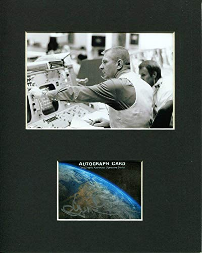 Rare Signed Photo - Eugene Gene Kranz NASA Flight Director Space Signed Autograph Rare Photo Display