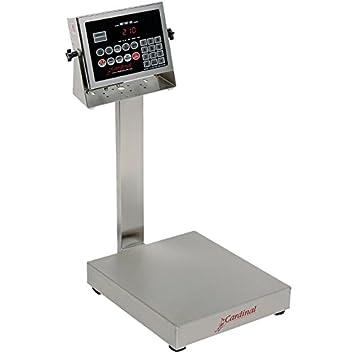 Cardinal Detecto eb-60 – 210 60 lb. – Báscula electrónica (con indicador