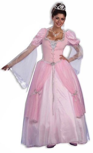 Forum Fairy Tales Fashions Fairy Tale Princess Dress, Pink, Standard (Fairy Fancy Dress Adults)