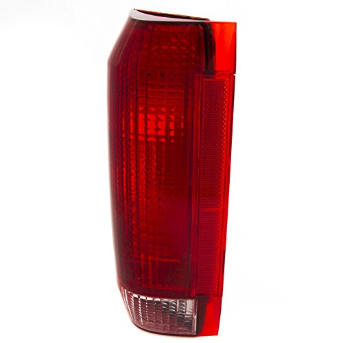 95 96 Ford F250 Truck (CarPartsDepot Fit 92-96 Ford Pick Up F150/250 Truck Rear Tail Brake Light Driver FO2800106)