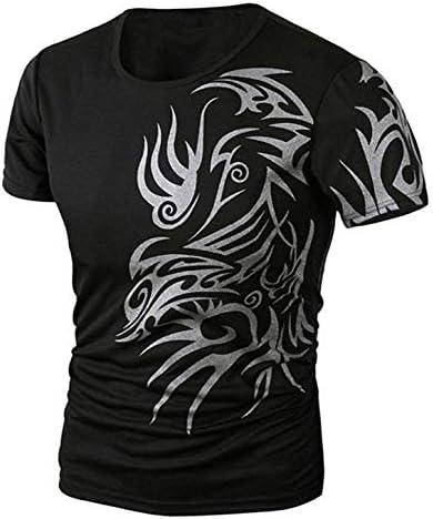 (ラフマトーン) Lafumatone ドラゴン Tシャツ シャツ 龍 竜 プリント インナー 長袖 半袖 メンズ