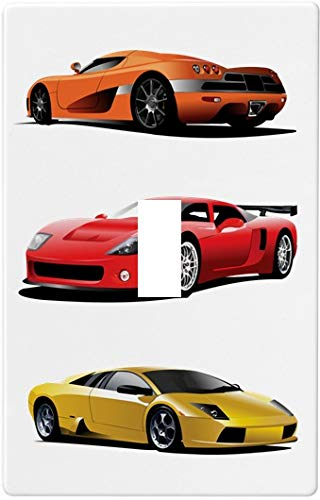 (Sports Cars Switch Plate Cover (Single Toggle))