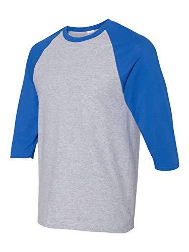 Gildan Heavy Cotton Three-Quarter Raglan Sleeve Baseball T-Shirt - 5700