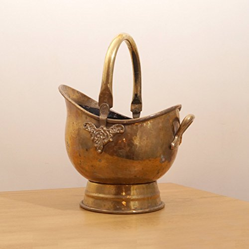 Brass Coal Bucket - 8