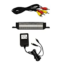 NES Parts Bundle - 72 Pin Connector, AV Cable, and Power Adapter - by Mars Devices