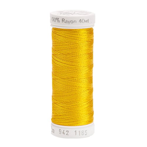 Sulky Rayon Thread for Sewing, 250-Yard, Golden Yellow
