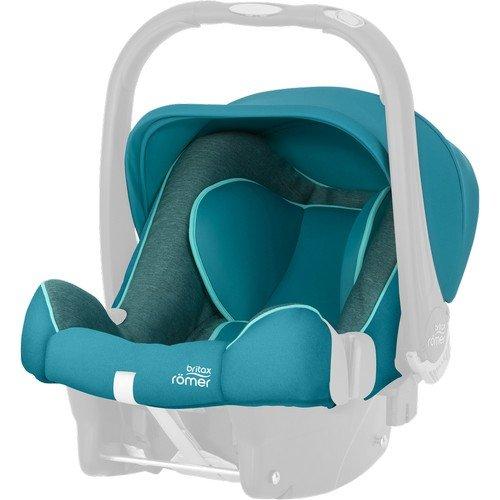 R/ömer Ersatzbezug f/ür baby-safe Plus II SHR Green Marble
