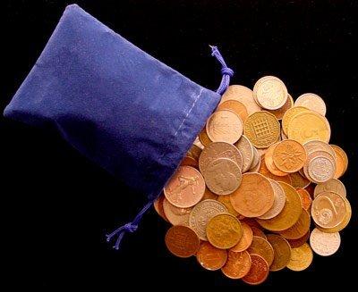 Amazon.com: Mundo Coin Grab Bag – 200 Assorted monedas: Toys ...