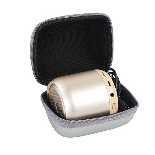 Hermitshell Hard EVA Travel Case Fits Anker SoundCore Mini Super-Portable Bluetooth Speaker (Gray)