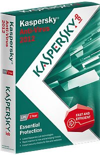 Kaspersky Anti-Virus 2012 1PC 1Year