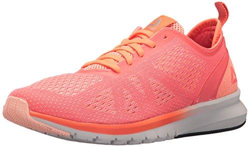 (Reebok Women's Print Smooth Clip ULTK Sneaker Guava Punch/Peach Twist/Leather 6.5 M US)