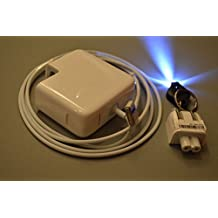 NEW Galaxy Bang AC Adapter Charger replacement for Apple MacBook Pro ME663LL/A, ME697LL/A (FREE Galaxy Bang LED Flashlight Keychain Light with your Order)