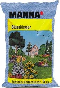 Manna Blaudünger - Blaukorn - 5 Kg - Mineralischer NPK-Dünger 8-8-8 von Native Plants