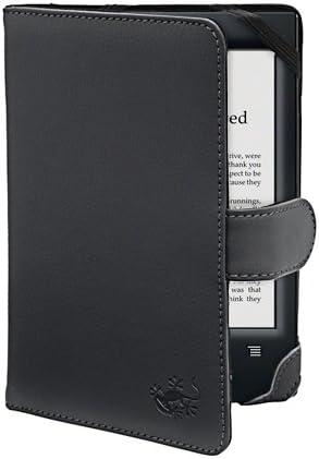 La funda Gecko Covers Sony PRS T2/T1 de color negro para la ...