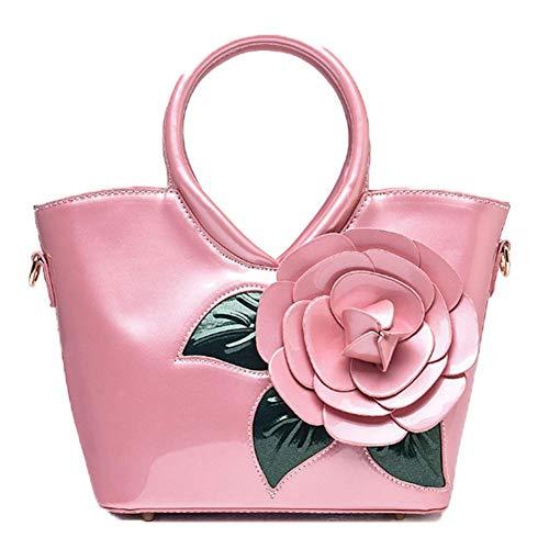 main PU Sac en épaule OHmais porté bandoulière à Sac Cuir Sac fille pour Pink femme UwzqqE4Zx1