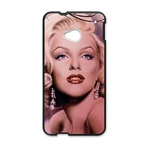 Marilyn Monroe HTC One M7 Cell Phone Case Black SA9746570