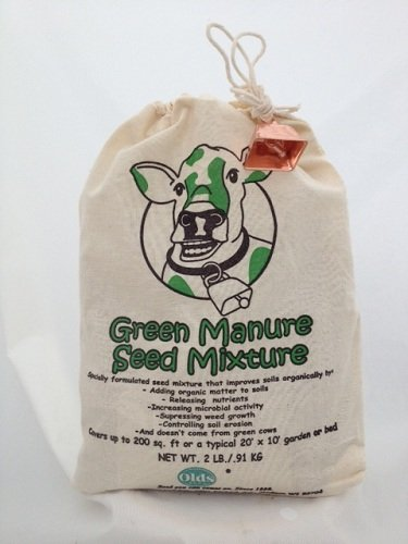 Green Manure Seed Mixture - 2 lbs - Improve Soil Organically