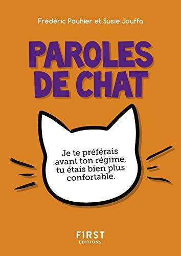Petit Livre De Paroles De Chat French Edition Kindle