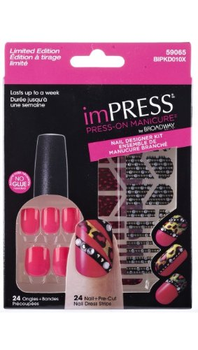 Amazon New Limited Edition Impress Nail Designer Kits By