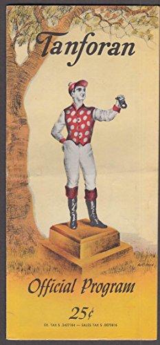 Tanforan Horse Racing Program 10/8 1960 San Francisco Handicap San Bruno - Ca Tanforan