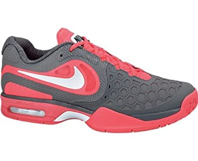 the latest cfffa ef4ad NIKE Courtballistec 4.3 Men s Tennis Shoes, Red Grey, ...
