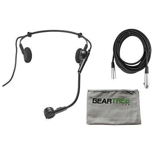 - Audio Technica PRO8HEX Hypercardioid Dynamic Headworn Mic w/Cable, Geartree Clo