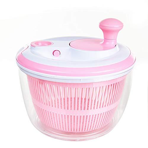 Salad Spinner,Vegetables Dryer Quick Dry Design BPA Free,Manual Lettuce Dryer With Crank Handle & Locking Lid,Ease for Tastier Salads and Faster Food Prep