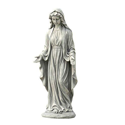 Winsome House Virgin Mary Outdoor Garden Statue