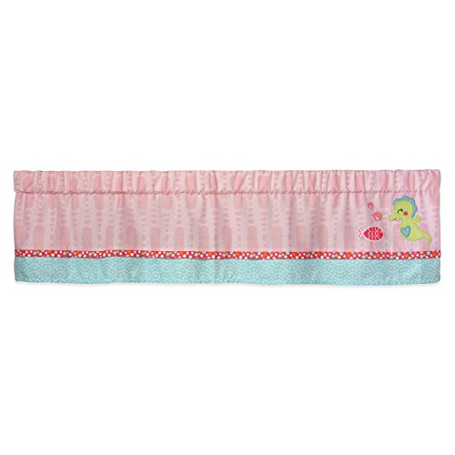 Carter's Sea Collection Window Valance, Pink/Blue/Turquoise -