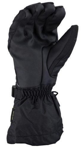 Klim Klimate Men's Snocross Snowmobile Gloves - Black / X-Large