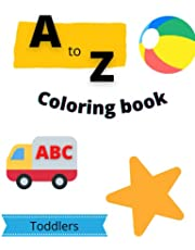 A to Z Coloring Book