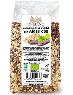 COPOS BIO DE AVENA CON ALGARROBA, Con agave LO BLANC - Bolsa 400 g,