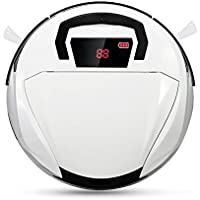 Robotic Vacuum Cleaner, Household Wireless Automatic Robot Cleaning for Home, Floors and Pets